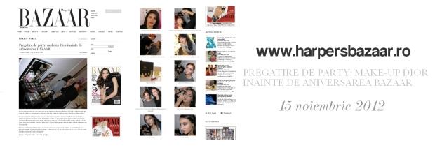 Harper`s Bazaar, fashion magazine, make-up, Dior, Christian Dior