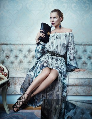 salvatore ferragamo, kate moss, sean o`pry, fashion campaign, fall winter 2012-2013
