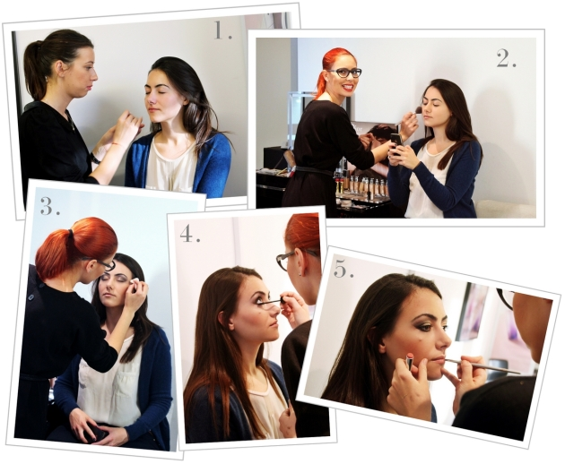 Christian Dior, Dior, Dior cosmetics, make-up, make-up session, dior make-up, dior grand bal
