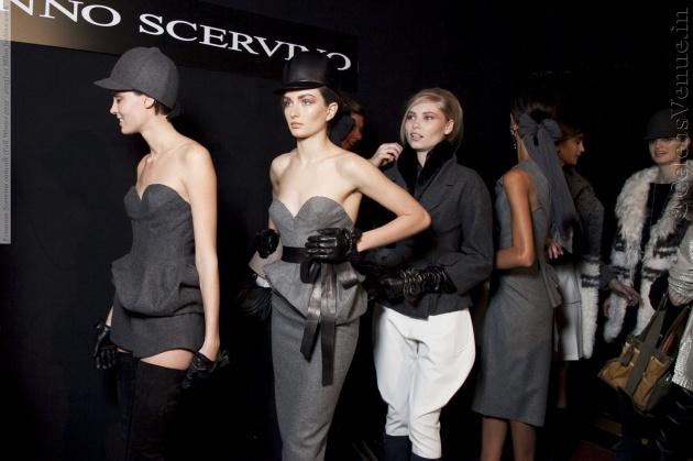 Ermanno Scervino, designer, italian designer, Scervino, Andreea Diaconu, fashion show
