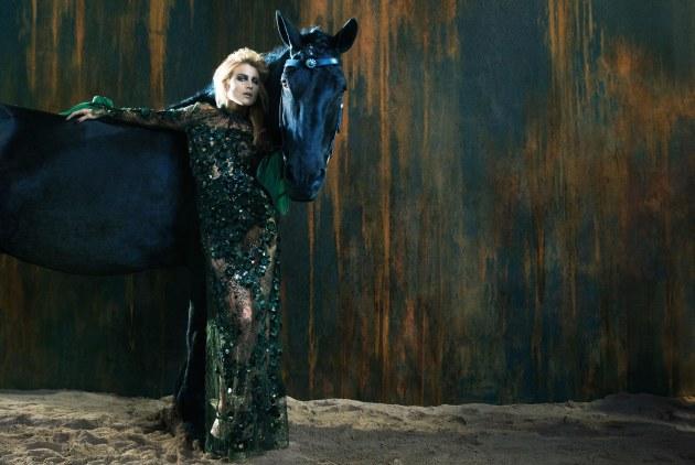 Ermanno Scervino, designer, italian designer, Scervino, Dree Hemingway, fashion ads, horses