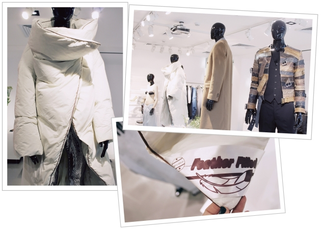 Maison Martin Margiela, H&M, H&M showroom, Margiela for H&M, margiela clothes