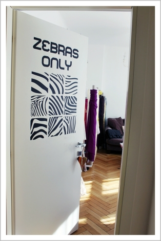 Parlor, fashion designer, showroom, zebra, zebra print