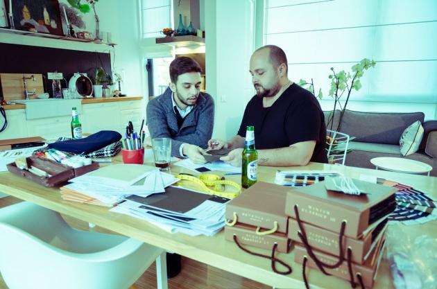 Catalin Georgescu, Mihai Dan Zarug, twenty(2)too, mauvert, peroni, collaborazioni,