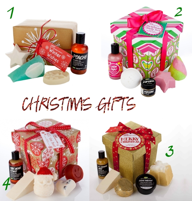 Lush, lush gifts, christmas gifts, mauvert,