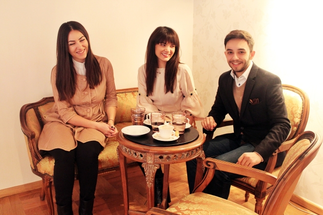 ioana voicu, claudiu enescu, malvina cervenschi, diamond boutique, breakfast, fashionable people, mauvert, malvensky