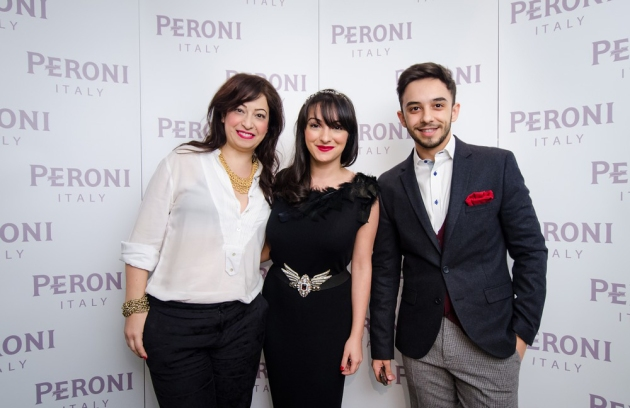 Irina Markovits, Ana Morodan, Claudiu Enescu, peroni, party peroni, collaborazioni, inverno, after-ski, fratelli