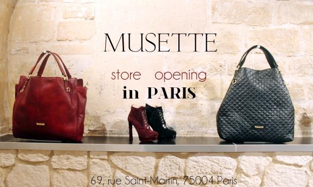 musette, paris, musette paris, store opening, musette store