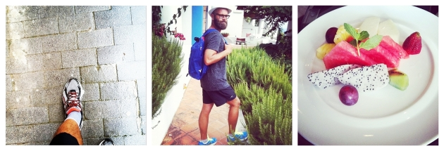 Angelo Flaccavento, dressing, mauvert, jogging, healthy food, sport, fruits, accessories, men style, style icon