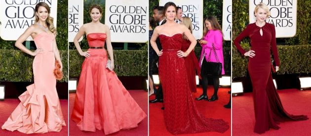Jessica Alba, Jennifer Lawrence, Jennifer Garner, Naomi Watts, golden globe 2013, globurile de aur 2013, mauvert, covor rosu, top vedete, red carpet,