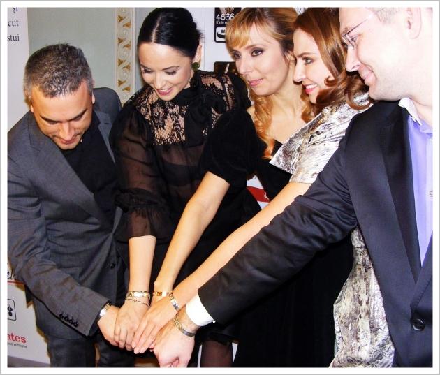 Nelson Mandela 46664, adina buzatu, andreea marin, zoli toth, roxana iliescu, mauvert, bratari nelson mandela, HIV