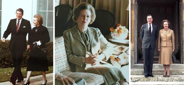 Margaret Thatcher - anii `80