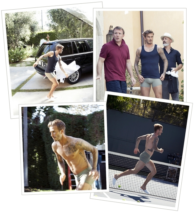 David Beckham, H&M, Guy Ritchie, David Beckham underware, mauvert, beckham naked