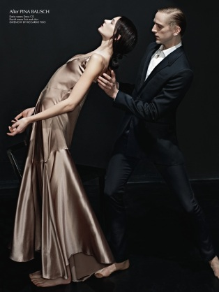 David Hallberg, CR fashion book, Carine Roitfeld, mauvert, ballet, dancer