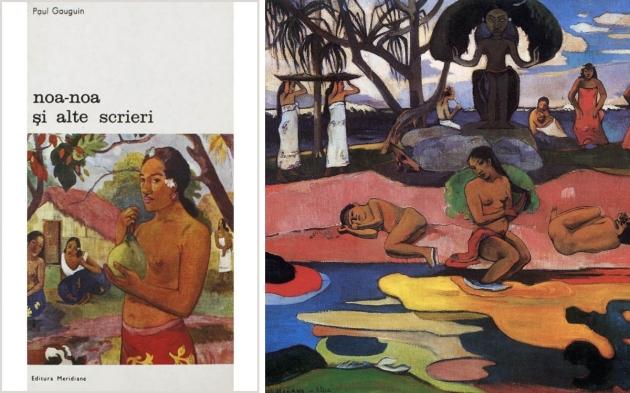 Noa Noa, Paul Gauguin, mauvert, noemi revnic, lectura, book cover tee