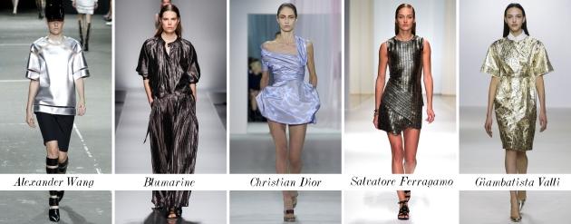 metallic, metalic, lucios, trend, tendinte, primavara vara, mauvert, dior, blumarine
