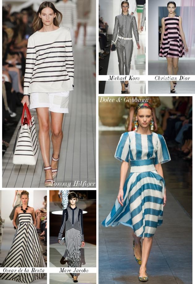 trends, the trend, spring summer 2013, primava vara, dungi, stripes, mauvert, tendinte, michael kors, dolce & gabbana