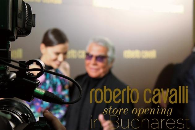 Roberto Cavalli, Irina Shayk, Bucuresti, deschidere, magazin, Marriott, store opening, mauvert