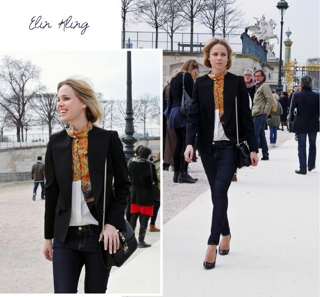Elin Kling, mauvert, paris, paris fashion week, valentino, tuilleries, street style
