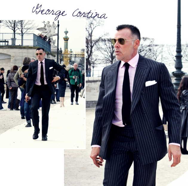 george cortina, vogue japan, mauvert, paris, paris fashion week, valentino, tuilleries, street style