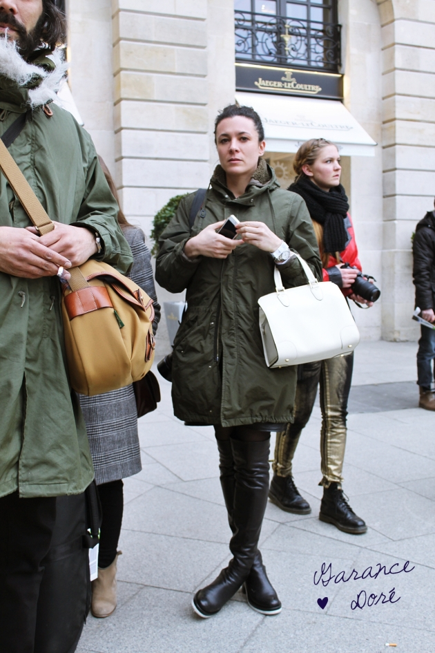 Garance Dore, fashion blogger, mauvert, paris, paris fashion week, isabel marant, place vendome, street style