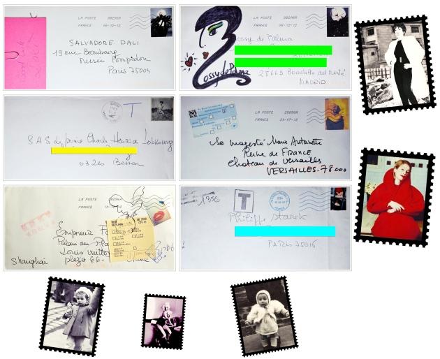 lettres expo Marie Beltrami Une Vie deTimbrée