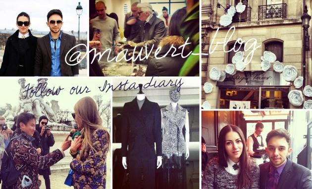 mauvert, paris, paris fashion week, street style, instagram, anna dello russo, karl lagerfeld, colette