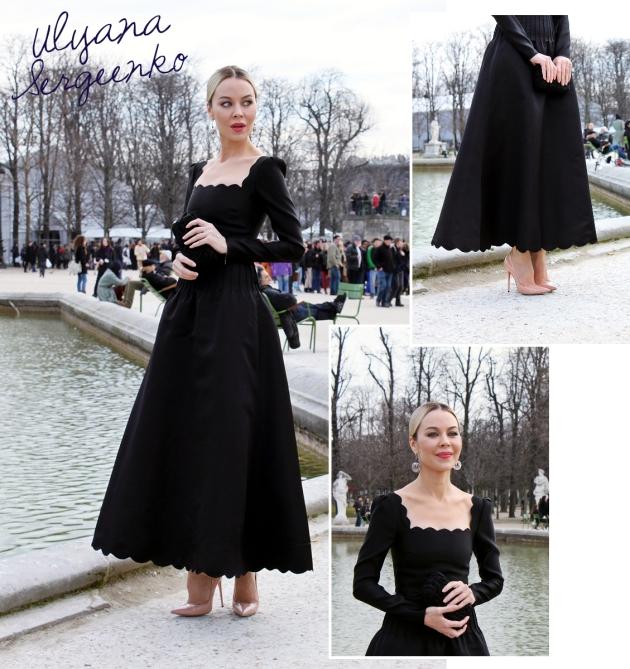 ulyana sergeenko, mauvert, paris, paris fashion week, valentino, tuilleries, street style