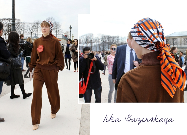 vika gazinskaya, mauvert, paris, paris fashion week, valentino, tuilleries, street style
