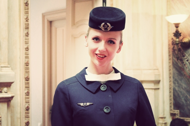 Air France, Elegance in the sky, uniforme, uniforme stewardese, uniforme vintage, armark, mauvert, christian dior