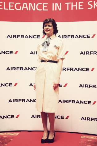 Air France, Elegance in the sky, uniforme, uniforme stewardese, uniforme vintage, armark, mauvert, carven, nina ricci