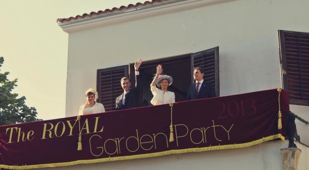 palatul elisabeta, principesa margareta, principele radu, familia regala, casa regala, 10 mai, garden party, palarii, ziua regelui, mauvert