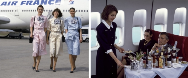 stewardess, uniforme, airfrance, uniforme airfrance, mauvert, moda, fashion uniforms, carven, christian lacroix
