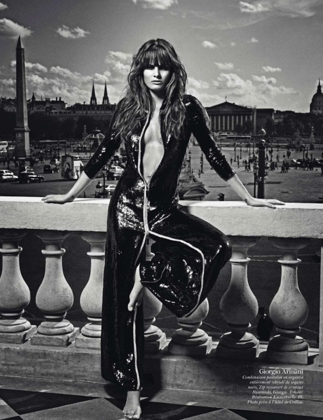 Paris, vive la france, mario sorrenti, emmanuelle alt, fashion, mauvert, rochii elegante, vogue paris