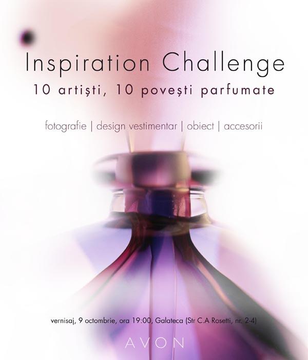 AVON Inspiration Challenge, avon, 10 designeri, artisti, creatori, expozitie, galateca, mauvert