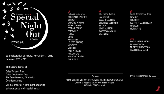Special Night Out, shopping nocturn doar pentru o seara www.mauvert.com