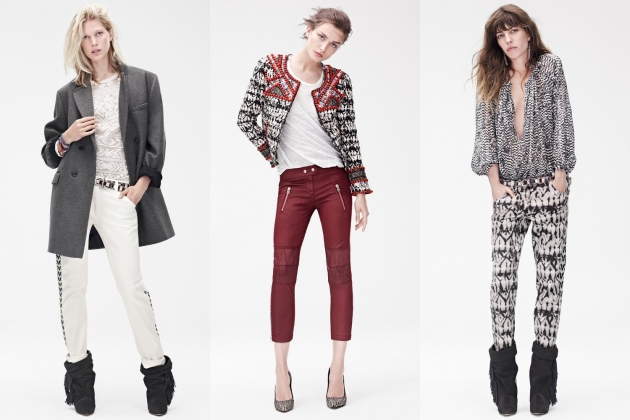 Isabel Marant vorbeste despre colaborarea cu H&M www.mauvert.com