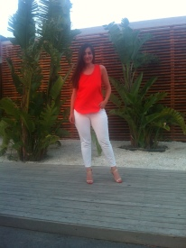 H&M outfit & Hardot sandals