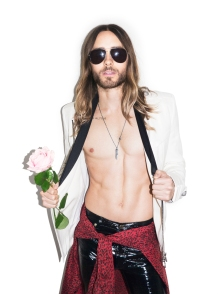 Jared Leto by Terry Richardson