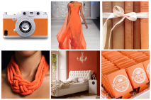 orange moodboard