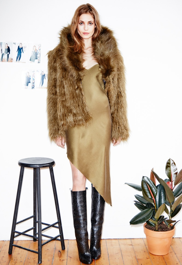 Colectia H&M Studio in magazine, www.mauvert.com