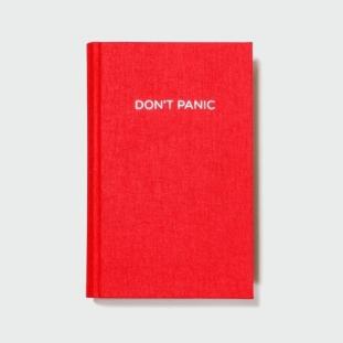 "Agenda ""DON`T PANIC"", Fabrik | 19 euro"