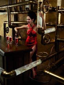 Calendarul CAMPARI 2015 | Eva Green, www.mauvert.com