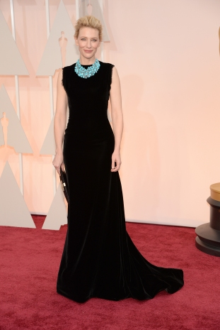 Cate Blanchett | Maison Margiela; bijuterii Tiffany & Co.