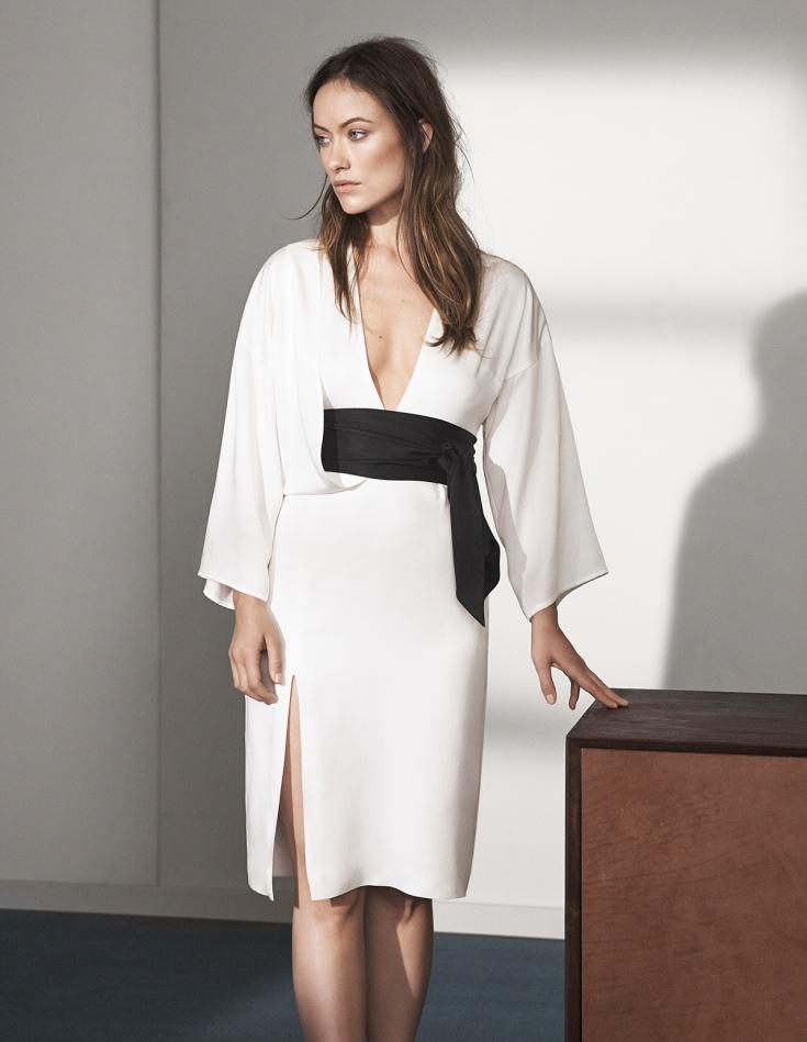 Olivia Wilde, H&M, conscious exclusive, www.mauvert.com