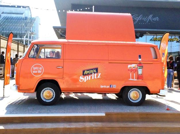 Caravana Aperol, Aperol Spritz, www.mauvert.com