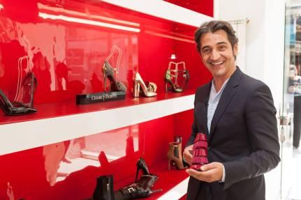 Cesare Paciotti, magazin de lux, www.mauvert.com