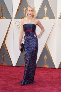 Naomi Watts in Armani Prive